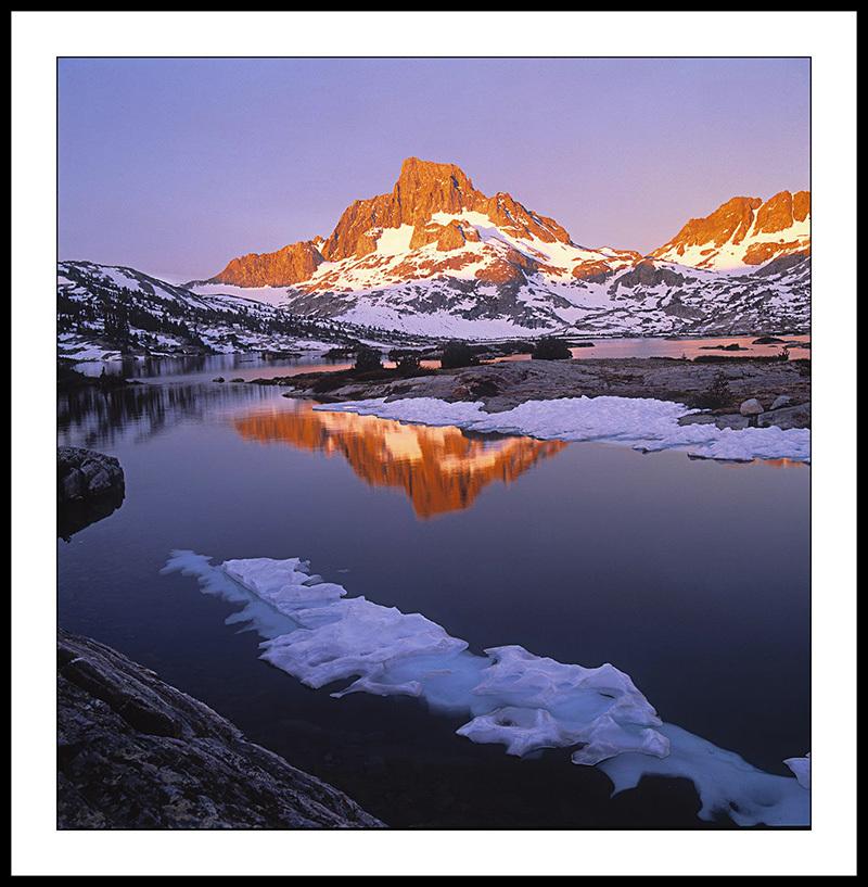 Banner Peak and Thousand Island Lake - Ansel Adams Wilderness, California