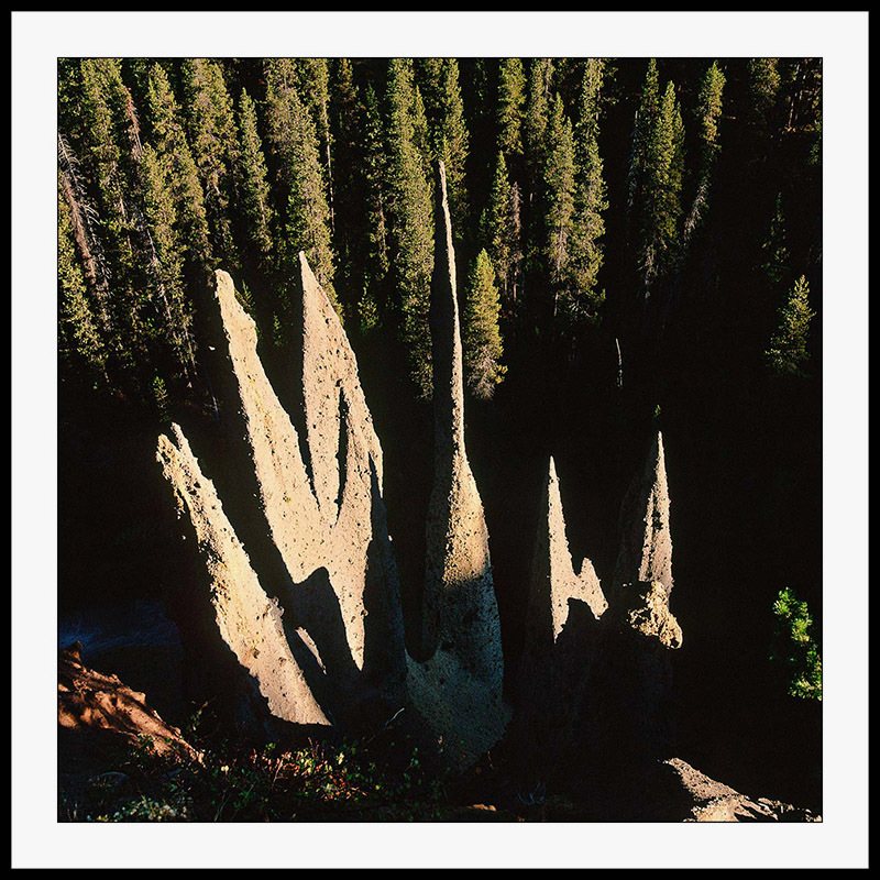 Pinnacles - Crater Lake National Park, Oregon