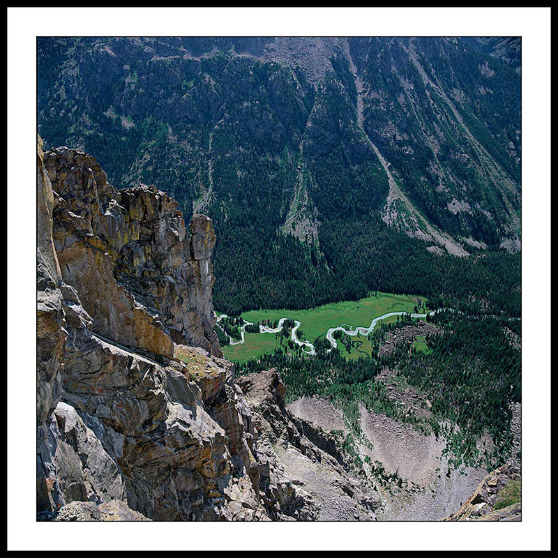 Three Forks Park and Upper Green River - Wind River Mountains, Wyoming