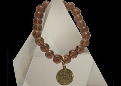 Crystal EMF Harmonizing Bracelet with pendant - Quantum EMF Protectors