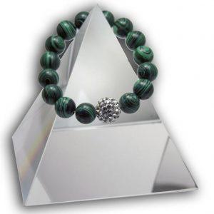 New Product - EMF Radiation Harmonizing Bracelet - Natural Malachite - Quantum EMF Protectors