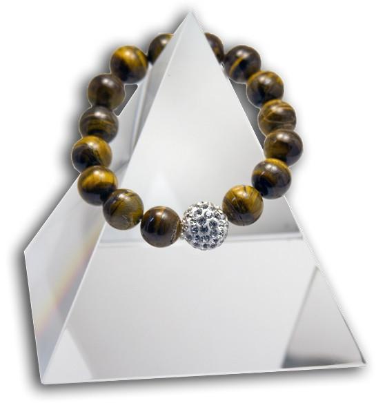 132 New Product - EMF Harmonizing Bracelet Malachite  TigersEye - Quantum EMF Protectors