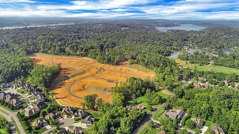Westland Oaks drone shot