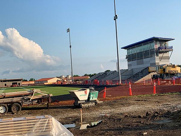 New Stadium. July 2021.
