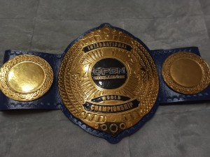 Cinturón del campeón