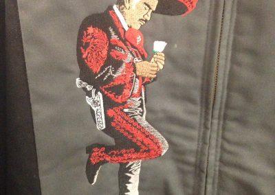 embroidery custom jacket dickies
