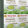 Thirsty Fresh Dehydrated Fenugreek Powder Wholesale Box Pack Front View