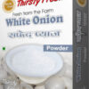 Thirsty Fresh Dehydrated White Onion Powder Box Front View
