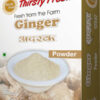Thirsty Fresh Dehydrated Ginger Powder Box Front View