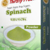 Thirsty Fresh Dehydrated Spinach Powder Box Front View