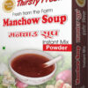 Thirsty Fresh Instant Manchow Soup Powder Box Front View