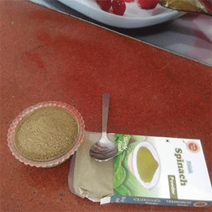 About Dry Vegetable Kitchen Dehydrated Vegetable Spinach Powder Image