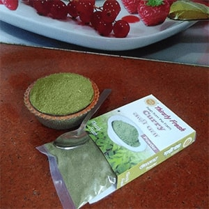 About Dry Vegetable Kitchen Dehydrated Vegetable Curry Leaves Powder Image