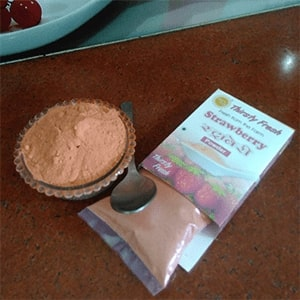 About Dry Vegetable Kitchen Dehydrated Vegetable Strawberry Powder Image