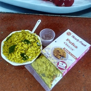 Kitchen Dry Vegetable Poha 5 Min Breakfast Ready to Cook Image