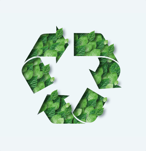 green recycle symbol all ways clean