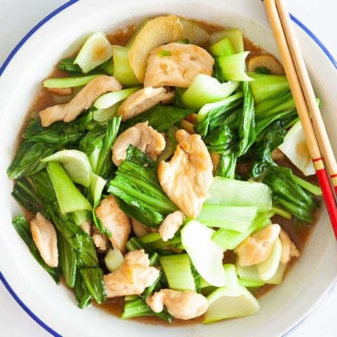 Chicken and Bok Choy — Recipe of the Week
