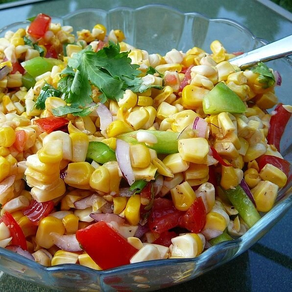 Grilled Corn Salad — Recipe of the Week