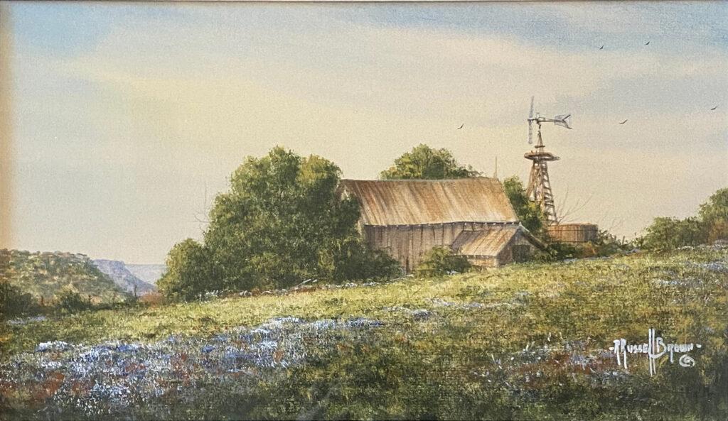 2021 raffle painting