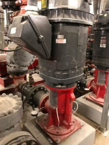 Water Pump room for fire safety