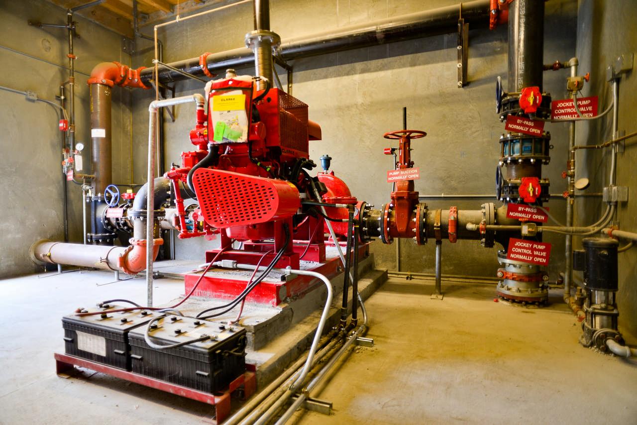 fire pump control room