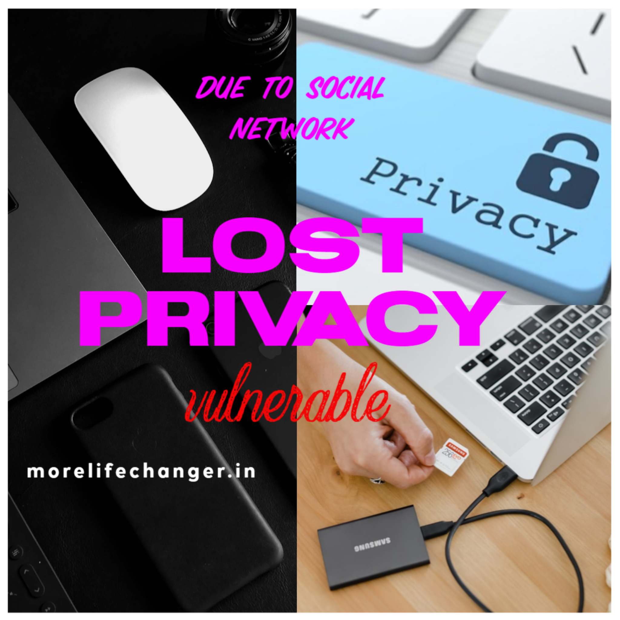 lost privacy by social network