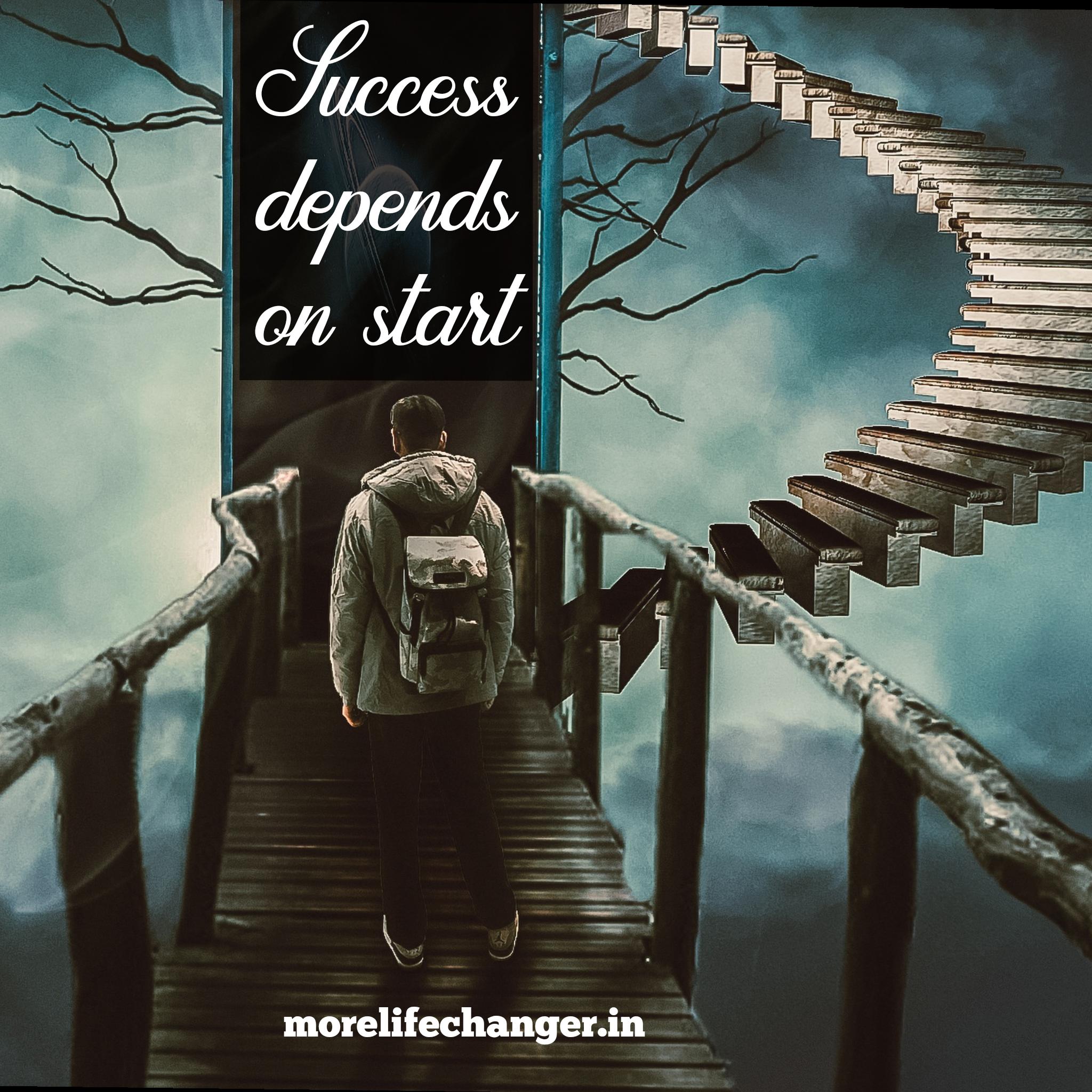Success depends on start