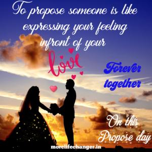 Happy propose Day , Valentine week