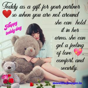 Happy Teddy Day , Valentine week