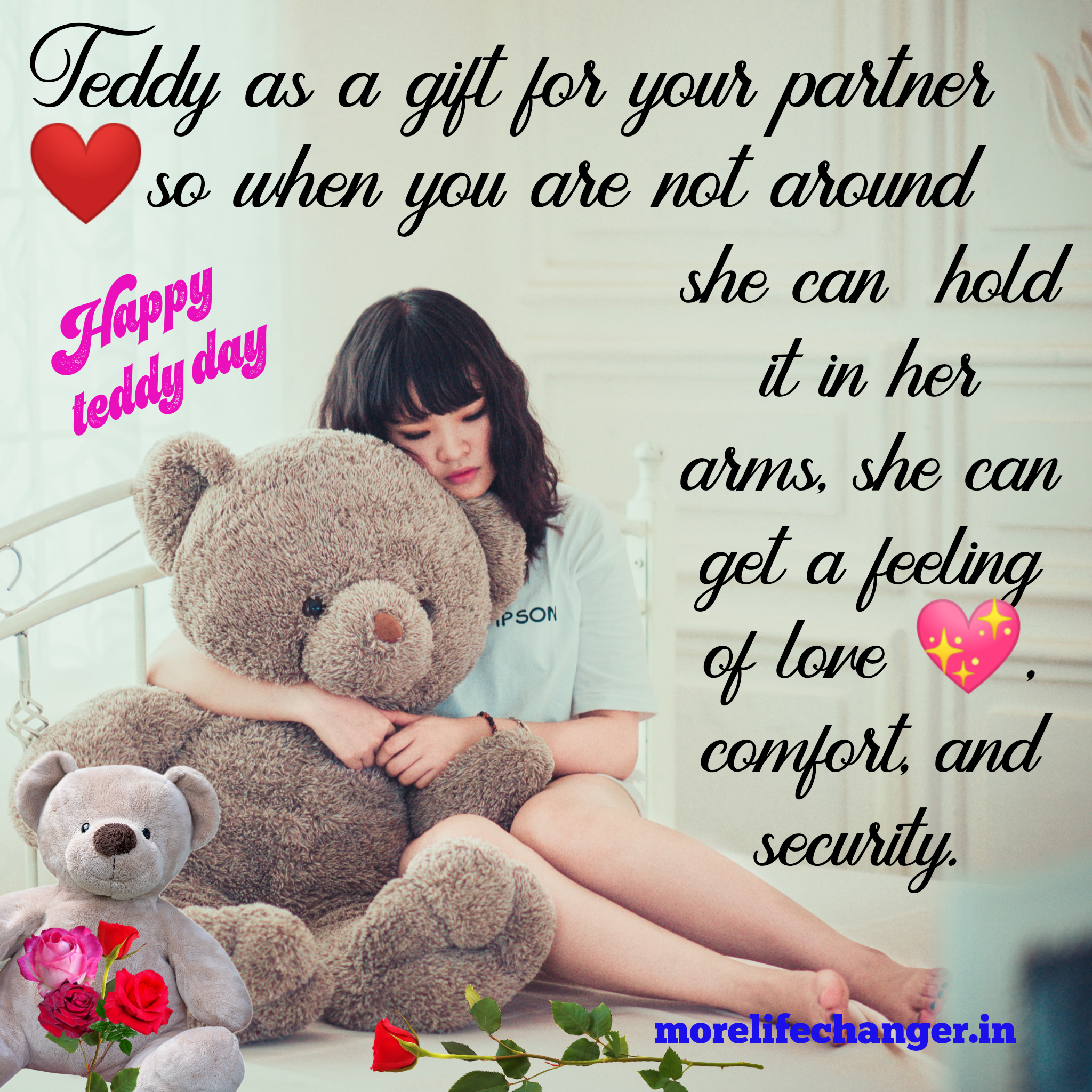 Happy Teddy Day Quotes with HD images
