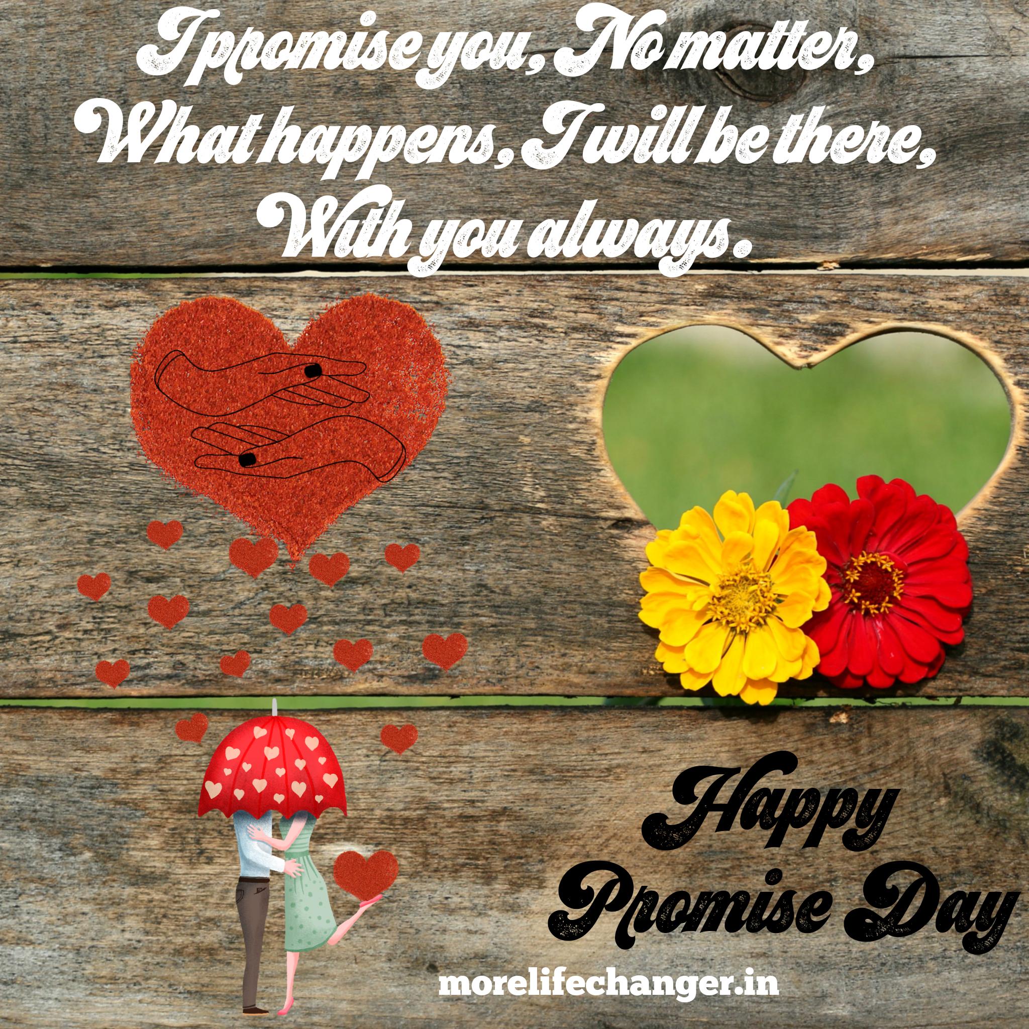 Happy promise day 1