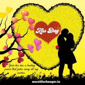 Happy Kiss Day , Valentine week