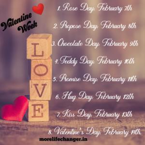 valentine week, Happy valentine's Day
