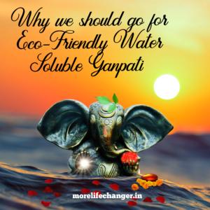 Eco-Friendly Ganpati for Ganesh Chaturthi