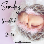 Sunday soulful quotes