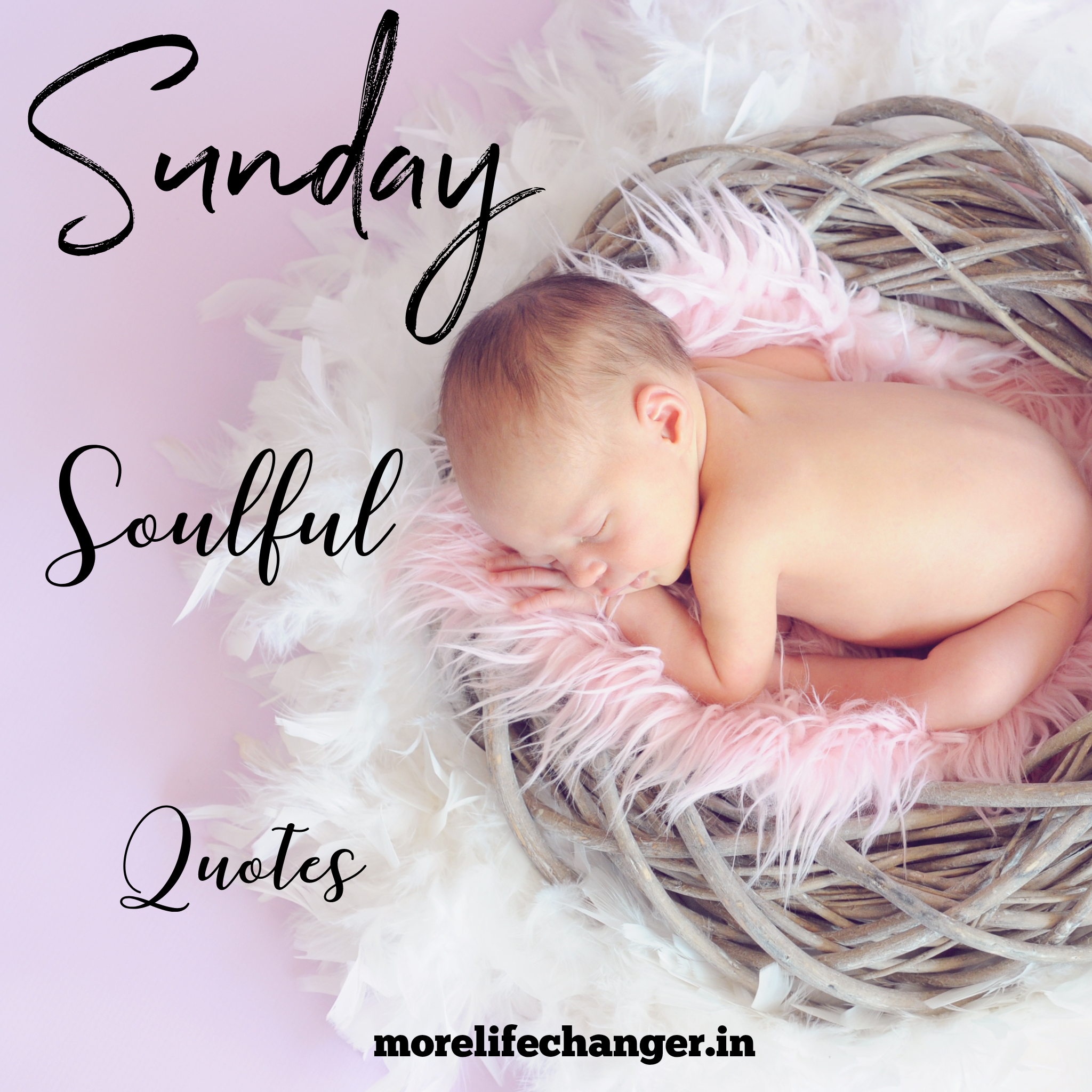 Sunday soulful quotes