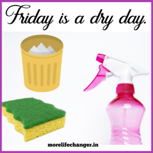 Friday is dry day