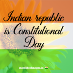 Indian republic day is constitutional day