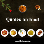 Quotes on food