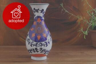 0002-VAS-hand-painted-suzani-vase-adopted