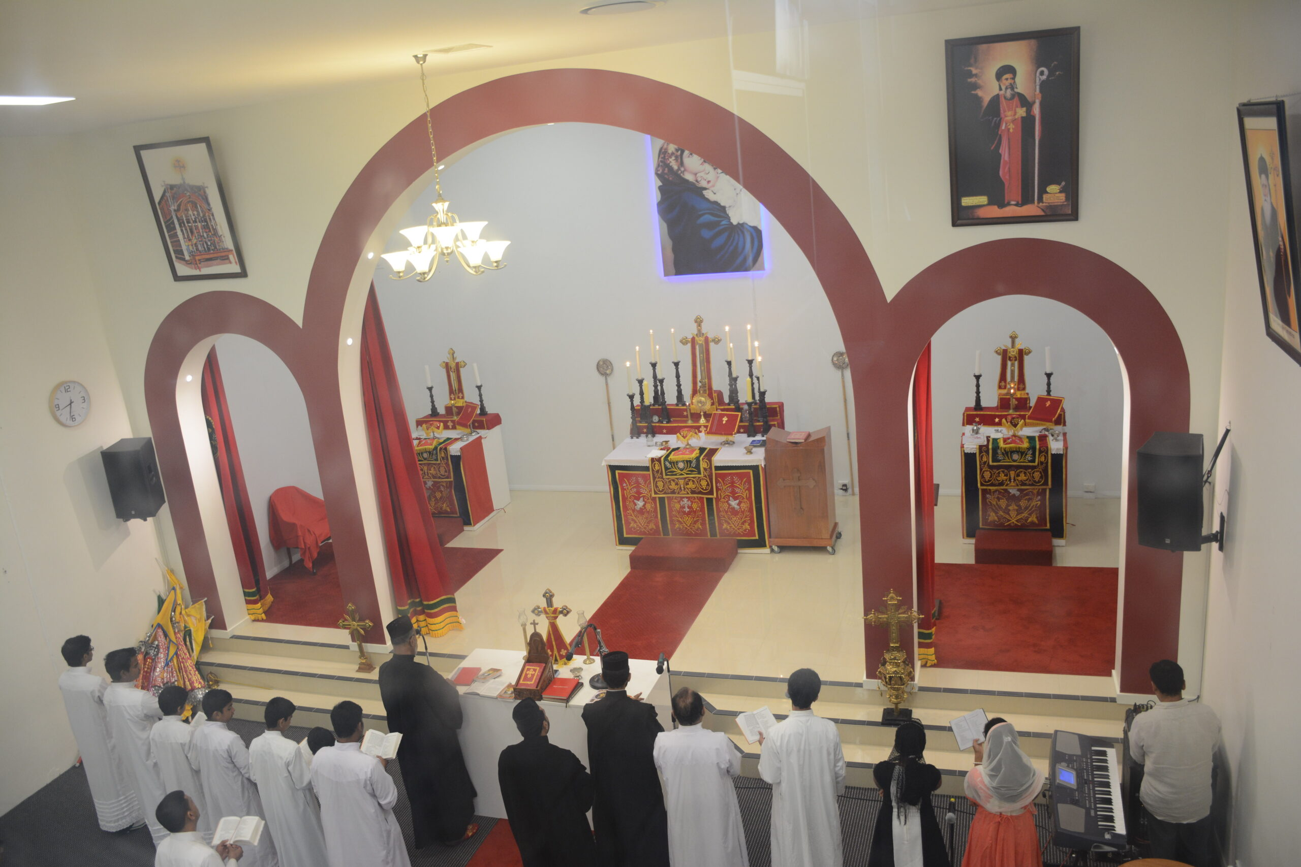 Under the Holy Apostolic Throne of Antioch and All the East