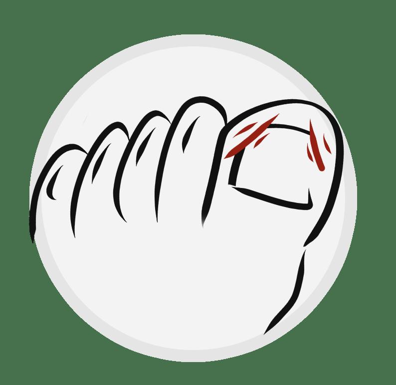 Ingrown Toe Nails Icon