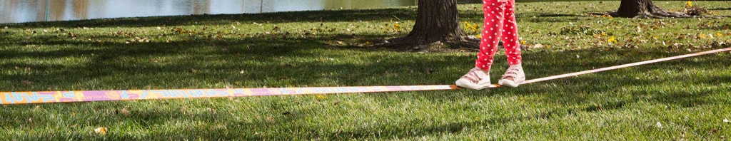 slacklining practice makes stronger hips and ankles