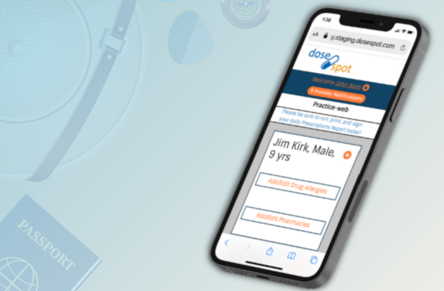 New Feature: Electronic Prescribing From Your Dentist Portal
