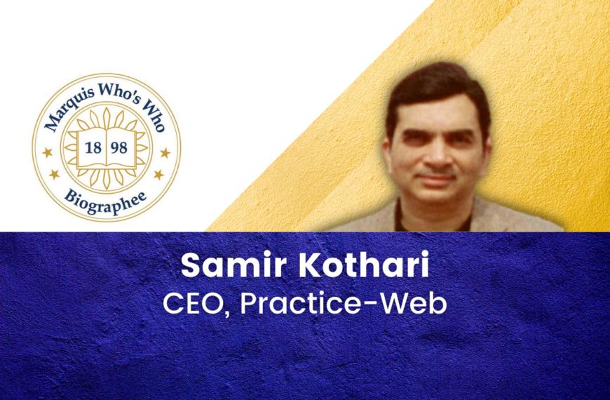 Samir P. Kothari Celebrated for Success in Dental Software Development