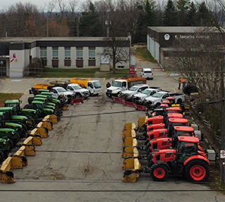 commercial landscaping tractors