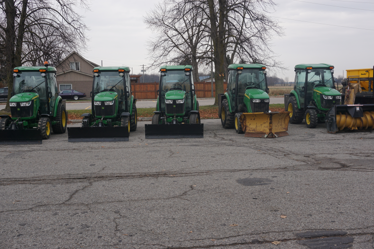 Green Tractor Fleet