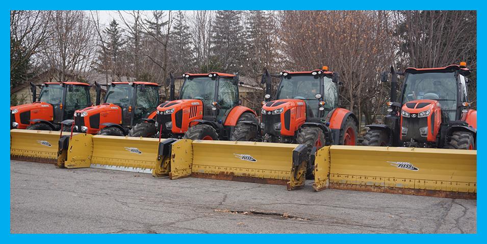 Orange Tractor Fleet