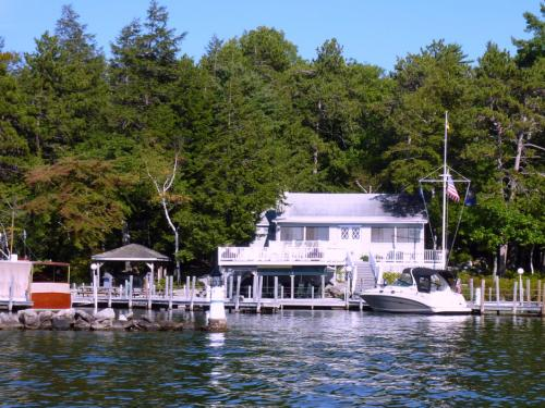 Clubhouse at the Winter Harbor Yacht Club