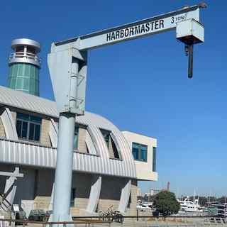 Jib Crane Newport Beach Yacht Club